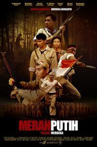 """Poster film trilogi merdeka """"Merah Putih"""""""